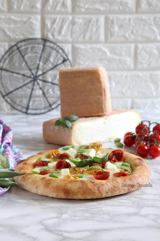"""Pizza """"Gourmet"""" con Taleggio"""